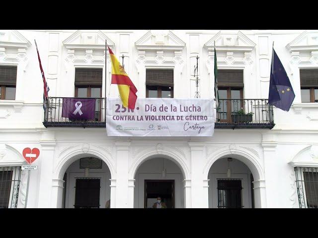 Cartaya Tv   Apoyo institucional a las víctimas de Violencia de Género