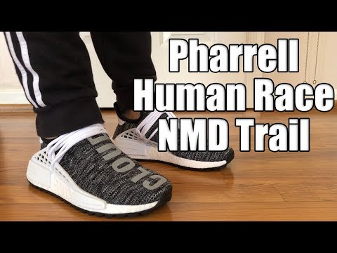 huge discount a4492 beaea Adidas Pharrell Human Race NMD Trail Oreo Review + On Feet ...