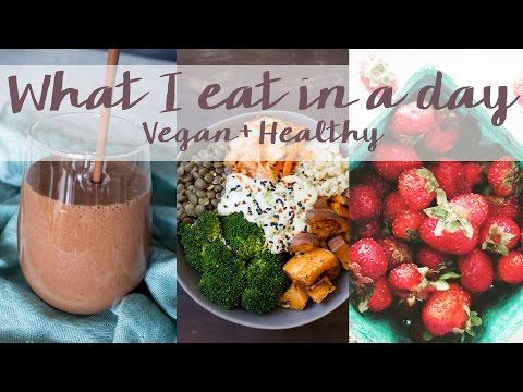 What I Eat in a Day || VEGAN || Banana Mocha Smoothie || Episode 3