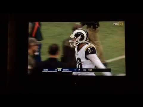 Sammy Watkins AMAZING 67 Yard Catch For 6   Giants Vs Rams   NFL