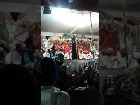 Asad iqbal address Maat Purwa gorakhpur garib Nawaz conference and Dastar Bandi
