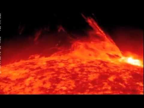 Massive Solar Flare Eruption, 24/02/2011