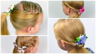 4 EASY HEATLESS BACK TO SCHOOL HAIRSTYLES. Compilation of hairstyles #8