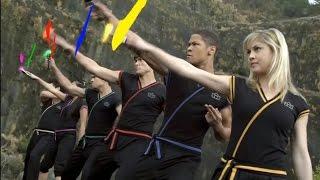 Super Samurai - Power Rangers Morph and Roll Call 32   The Sealing Symbol   Power Rangers Official