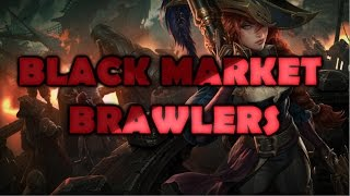 Black Market Brawlers Mode Full Gameplay (Miss Fortune) - New League of Legends Featured Game Mode