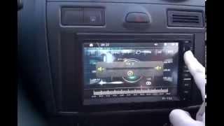 Автомагнитола 2 DIN Pioneer PI 703 2014 ОБЗОР (1часть)
