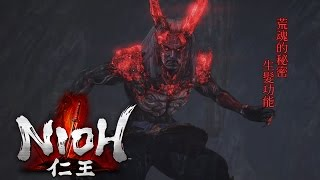 PS4仁王boss石田三成在打的時候除了以為守護靈是龍之外還以為荒魂有生髮...