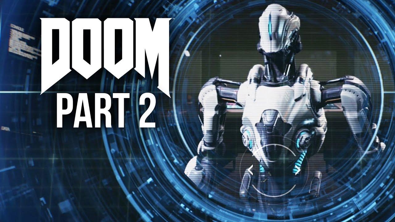 DOOM Gameplay Walkthrough Part 2 - MELTDOWN (Doom 2016 4 Campaign)