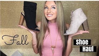 Fall Shoe Haul (Try on!) Lulus.com 2016