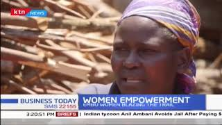 Women in the counties benefit from Climate Change Funding