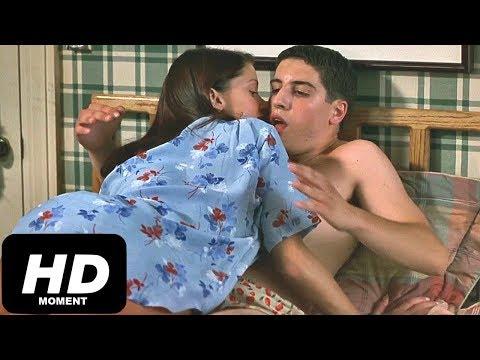 Надя шалит с Джимом, Американский пирог, момент из фильма