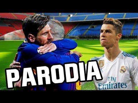 Canción Barcelona vs Real Madrid 2-2 (Parodia Te Bote Remix - Bad Bunny, Ozuna, Nicky Jam, Darell)