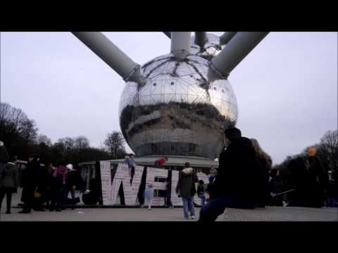 be.Welcome Atomium timelapse
