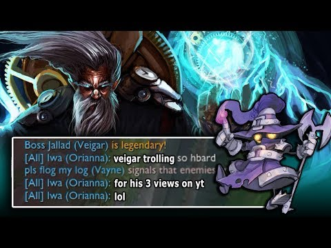 The WORST kind of player | Veigar + Zilean CC Combo