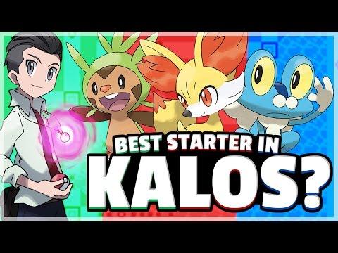 What Is The Best Starter Pokemon? (Kalos) Feat. Truegreen7