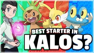 What Is The Best Starter Pokemon? (Kalos) Feat. Truegreen7