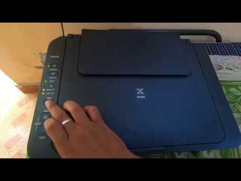 How To Reset Canon Pixma MG2570 , MG2570S , MG3070S (Black) Printers ⚙ [Hindi] | Fly With Sky