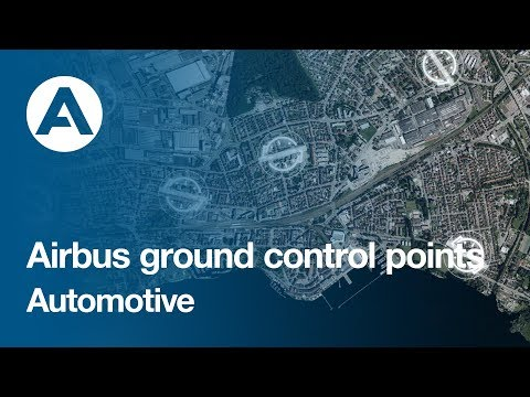 Drive off with Airbus Ground Control Points