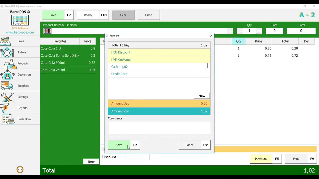 BarcoPOS © Free POS Software For Your Store