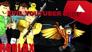 They want to kill me! | Roblox Escape EVIL Youtubers Obby