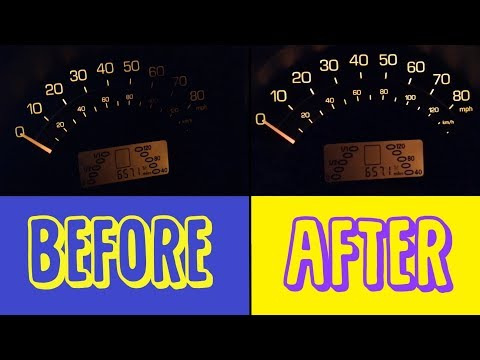 How To Change A Dash Light Bulb In A SMART CAR!!!!