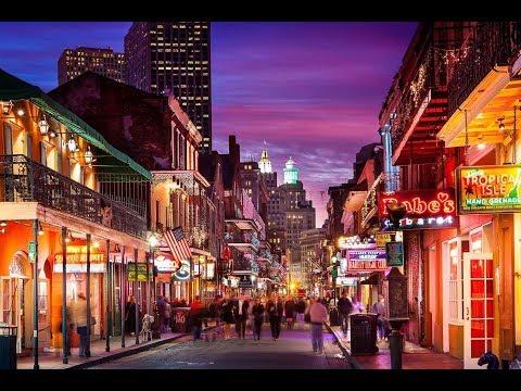 Bourbon Street Stroll - New Orleans LA