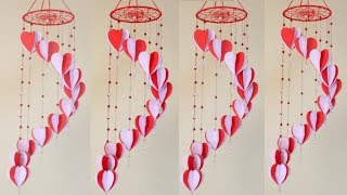 WOW !!! Beautiful Paper Jhumar || How To Make Paper Wall Hanging || Paper Craft Easy