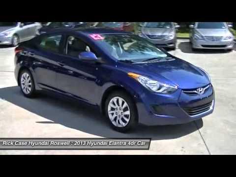 2013 HYUNDAI ELANTRA Roswell, GA R536087. Rick Case Hyundai Roswell