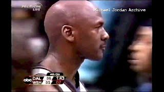 Michael Jordan (Age 40) Monster Block on Nick Van Exel! ''I'm Still King of the Floor!'' thumbnail