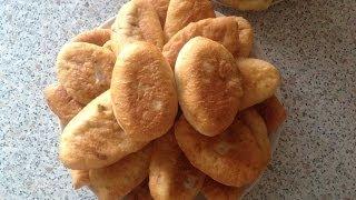 Пирожки с капустой и картошкой.