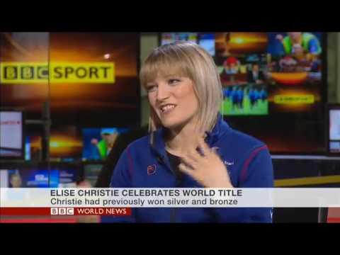 Elise Christie on BBC World News