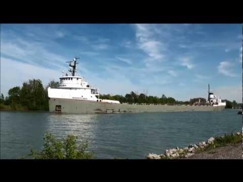 Ship MANITOBA on Welland Canal
