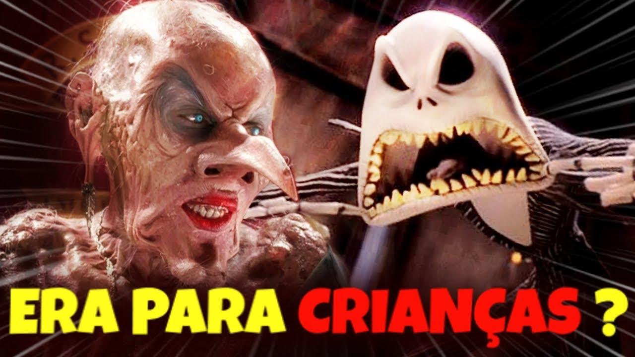 Filmes BIZARROS feitos para CRIANÇAS !!!
