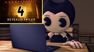 """Bendy and the Ink Machine: Chapter Four"" - Reveal Trailer 2018 