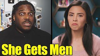 Dating women made her understand men's struggles.