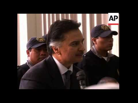 Court agrees to extradite former Guatemalan president to US