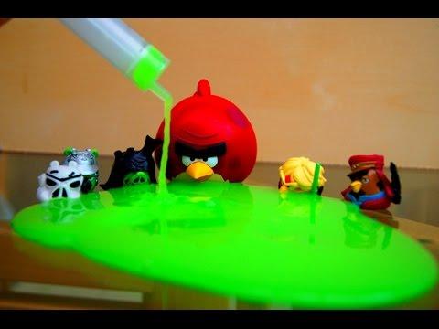 Игра Энгри Бердс звездные войны. Пазлы онлайн (Angry Birds