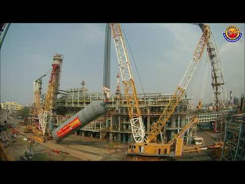 啟德 - 大林煉油反應爐吊裝