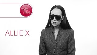 Allie X Becomes Herself Behind the Mask of Sunglasses on Style Files