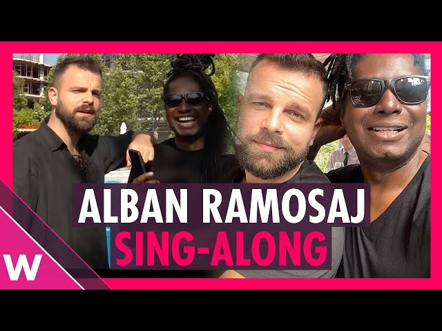 Eurovision Sing-Along: Can Alban Ramosaj sing past songs on demand?