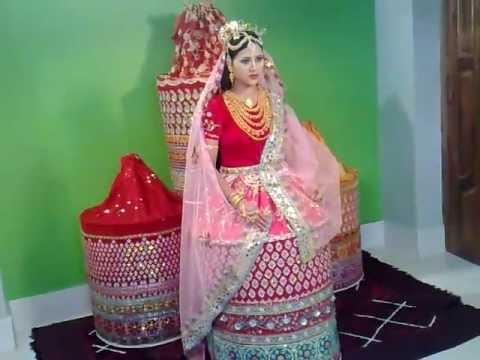 manda manipuri bride dress youtube
