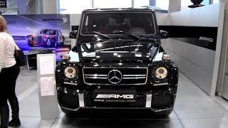 2015 Mercedes-Benz G63 AMG V8 BiTurbo $220K Walkaround Review Exterior Interior