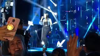 Natti Natasha en concierto...