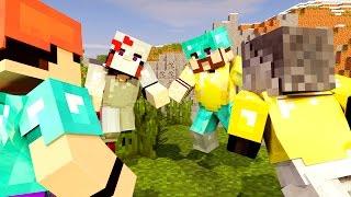 Minecraft - HARDCORE EM DUPLA COM LUCKY BLOCK! - #02 BATALHA CONTRA MISS E KAZIO!