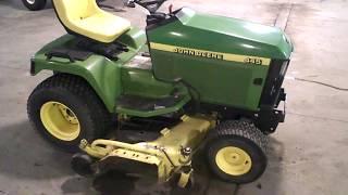Parting a John Deere 445 Lawn Garden Mower LOT 3436A Martos Motorsports