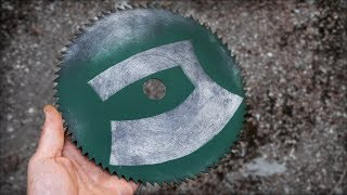 Make An Ulu Out Of A Sawblade