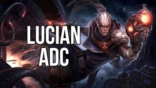 League of Legends - Hired Gun Lucian ADC - Full Game Commentary