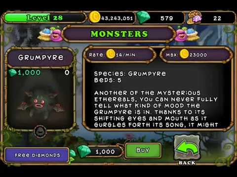 New Ethereal Monster Grumpyre Facts! Add me 2003516DC