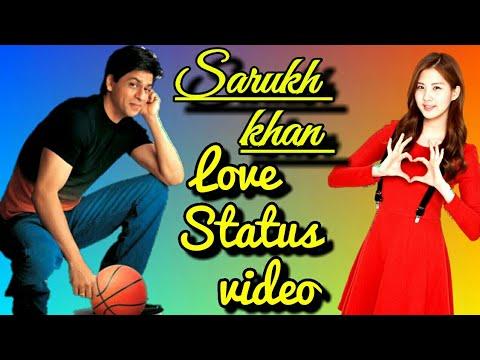 Sarukh Khan Romantic Love Whatsapp Status Video || Sharukh Khan || SRK Best Status Video 30 Second