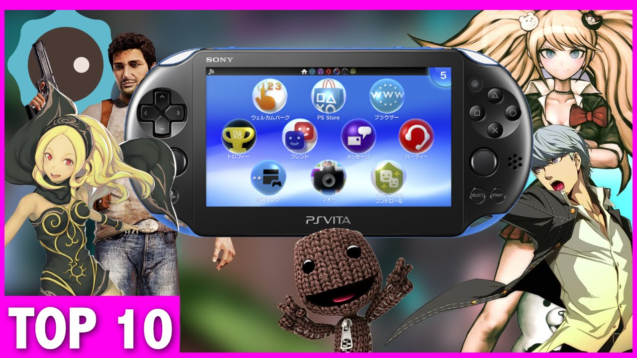 Top 10 Must Own Ps Vita Games Youtube